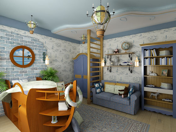 детской комнаты 20 кв.м Мебель своими